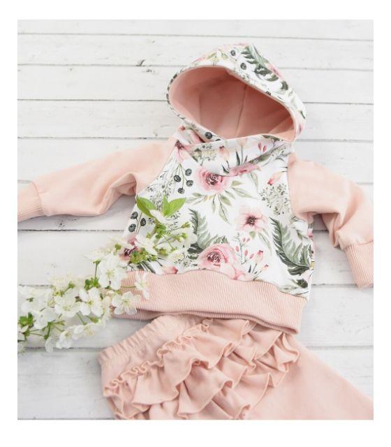 Bluza Garden z kapturem w możliwym zestawieniu z legginsami