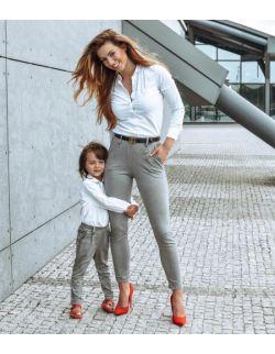 Zestaw eleganckich spodni Mama i Syn lub Mama i córka
