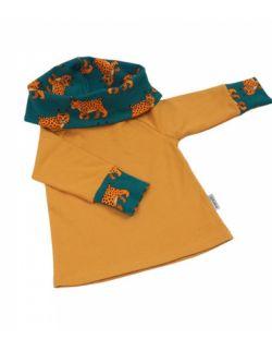 Bluza z komino - kapturem rysie mamaiti
