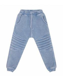 Spodnie Dziecięce Dresowe - Jogger Storm Blue
