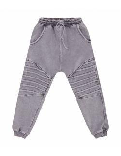 Spodnie Dziecięce Dresowe - Jogger Storm Grey