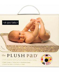 Podróżny przewijak Plush Pad z pianki memory - wzór Poppy