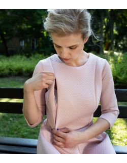 Sukienka do karmienia i po karmieniu Amazing Rose Dress- edycja limitowana
