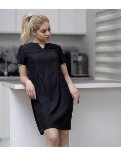 Sukienka ciążowa, do karmienia i po karmieniu- Elegant Black Dress