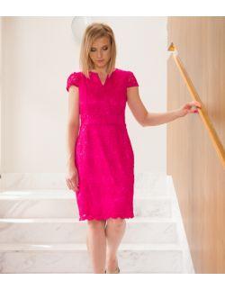 Sukienka do karmienia i po karmieniu Delicate Fuchsia Dress