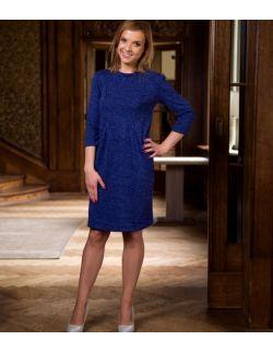 Sukienka/tunika na ciążę, do karmienia i po karmieniu Beautiful Blue Dress