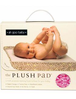 Podróżny przewijak Plush Pad z pianki memory - wzór Charleston