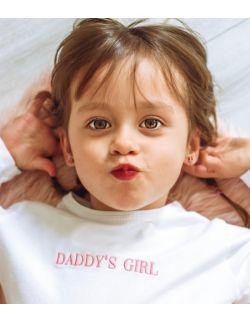 Dziecięce body z haftem DADDY'S GIRL