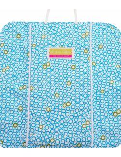 Podróżny przewijak Plush Pad z pianki memory - wzór Bubbles in Water