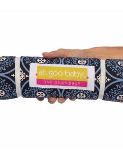 Podróżny przewijak Plush Pad z pianki memory - wzór Blueberry