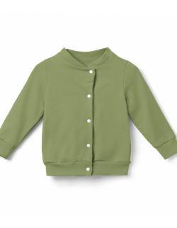 Bomberka, bluza dziecięca- oliwka.
