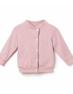 Bomberka, bluza dziecięca- kwarcowy róż.