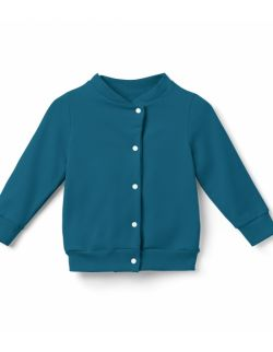 Bomberka, bluza dziecięca- morska.