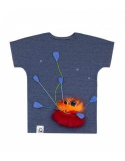 Koszulka dziecięca z ognistym potworem FIREMONSTER