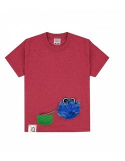 Koszulka dziecięca z niebieskiego potwora COOKIEMONSTER