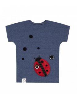 Koszulka dziecięca z aplikacją LADYBIRD