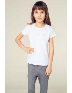 """Dziecięcy T-shirt z haftem """"DADDY'S GIRL"""""""