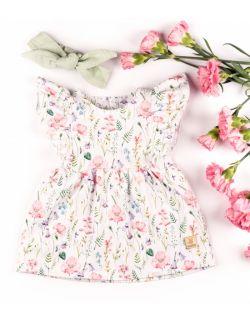 Sukienka łąka bez rękawka