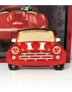 LAMPKA HAPPY MINI RED AUTO