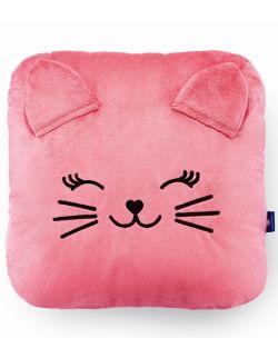 Poduszka dekoracyjna – truskawkowy kotek