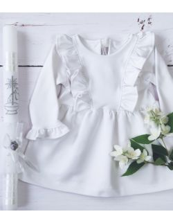BELLA DRESS WHITE