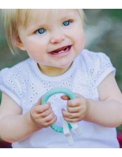 Gryzak dla dziecka Gwiazdki, miętowy, Jellystone Design