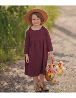 Windsor Wine muślinowa sukienka