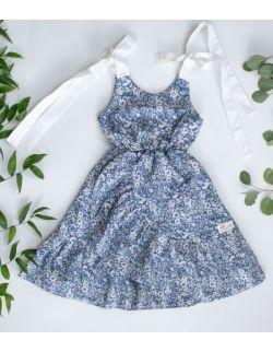 Sukienka Flora dark blue
