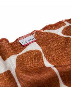 Mała pieluszka bambusowa - Żyraffa