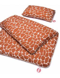 Bambusowa pościel dziecięca do łóżeczka - Żyraffa