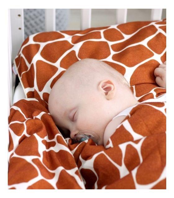 Bambusowa poszewka na poduszkę - Żyraffa