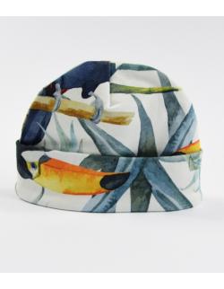 Bawełniana czapeczka Tukany