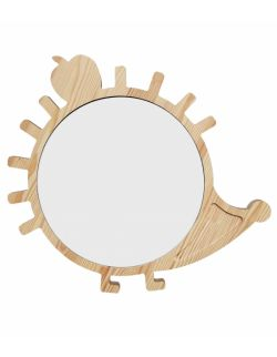 Drewniana tablica suchościeralna magnes jeżyk