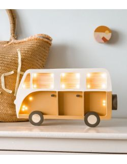 Drewniana lampka Van