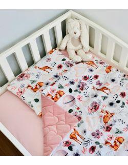 Poduszka velvet-bawełna sarenki 2 rozmiary