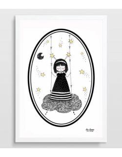 Plakat Mała Marzycielka