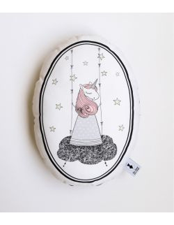 Poduszka dekoracyjna La Lune - Jednorożec