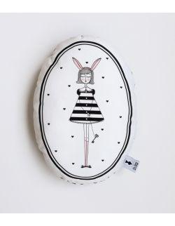 Poduszka dekoracyjna La Lune - Króliczka Lu