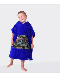 Szlafrok/ poncho, wiek: 3- 6 lat, (chaber_kameleon LIL Hug)