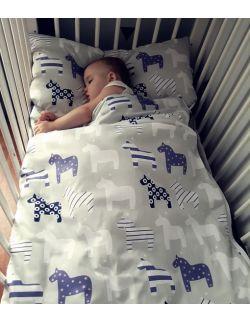Śpiworek do spania w koniki