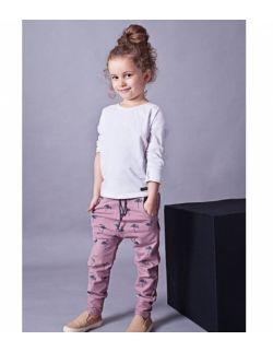 Spodnie dziecięce flamingi