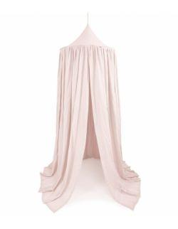 baldachim bawełniany soft maxi pudrowy róż