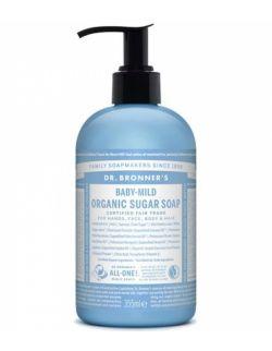 Mydło Organic Sugar Soap Dr. Bronner's baby mild 355 ml