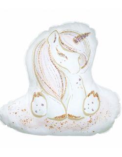 Poduszka Baby Unicorn 100% bawełna Jednorożec