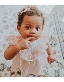 By Royal Baby Sukienka dla dziewczynki Mała Księżniczka Royal Pink