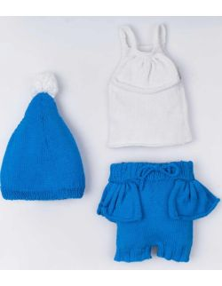 By Royal Baby Komplet niemowlęcy na prezent Blue Sky Handmade 0-6 m