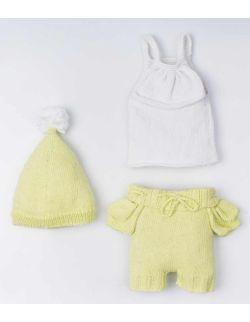 By Royal Baby Komplet wełniany niemowlęcy na prezent wyprawka Pistachio Handmade