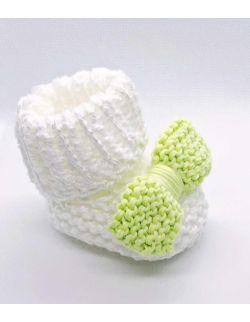 By Royal Baby Wełniane buciki papcie niemowlęce wyprawka prezent Handmade