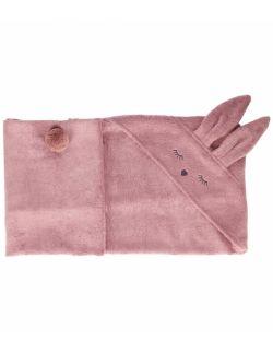 Bambusowy ręcznik króliczek wrzosowy