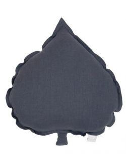 Lniana poduszka liść lipy 10 kolorów